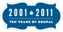 2001-2011, Ten years of Drupal